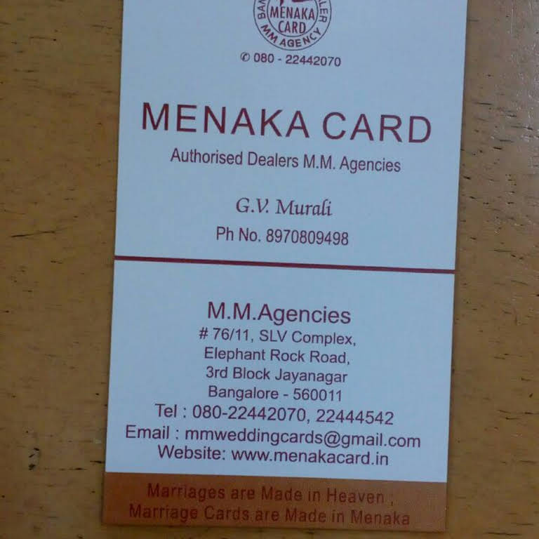 M M Agencies Invitations For Happy Occasions