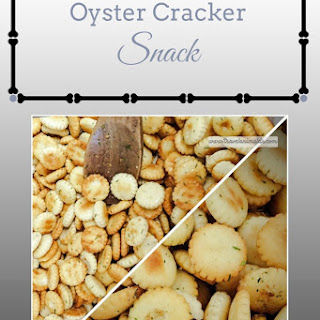 Oyster Cracker Snack Recipes.