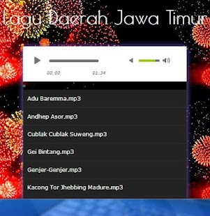 Song of East Java Region - náhled
