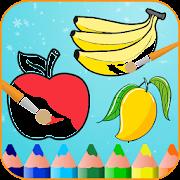 Fruits Coloring Book & Drawing Book APK