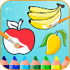 Fruits Coloring Book & Drawing Book