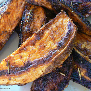 Cumin Rosemary and Garlic Sweet Potato Fries