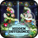 Spot the Difference Christmas Icon