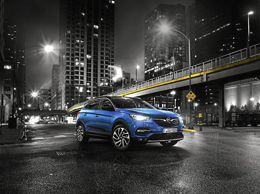 The new Opel Grandland X shares styling cues with other Opel models and a platform with the Peugeot 3008. Picture: OPEL SA