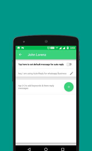 Auto-Reply for WhatsApp Business 1.3 screenshots 5