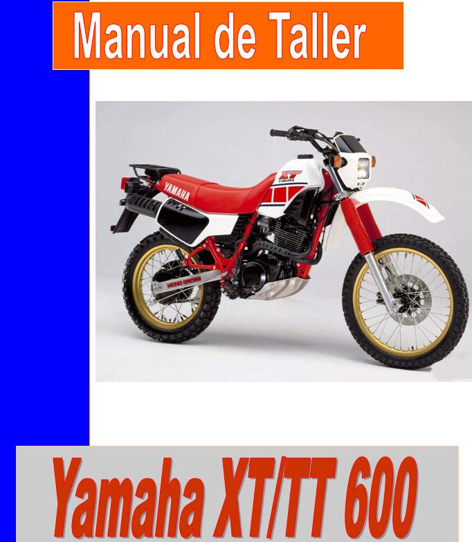 Yamaha XT 600 E-manual-taller-despiece-mecanica