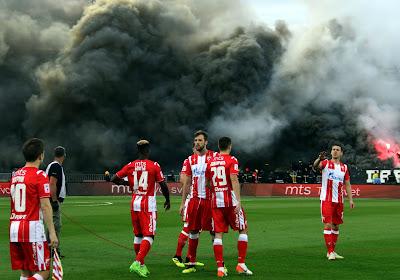 🎥 Le Partizan remporte le derby de Belgrade dans une ambiance impressionnante