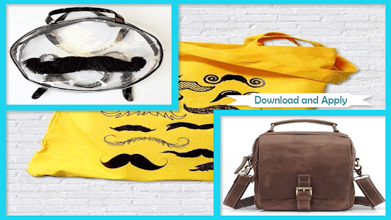 Perfect Casual Bag Moustache Tutorials - náhled