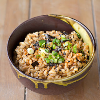 Spicy Japanese Oat Salad.