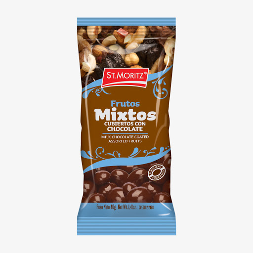 chocolate st moritz frutas surtidas chocolate
