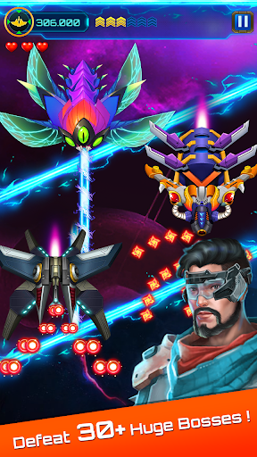 Space attack - infinity air force shooting screenshot 13