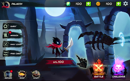 Shadow Stickman: Fight for Justice screenshot 1