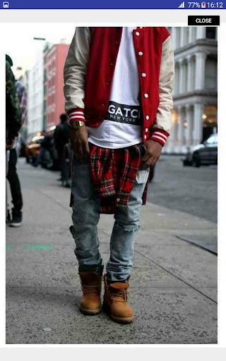 Street Fashion Men Swag Style 1.0 screenshots 8