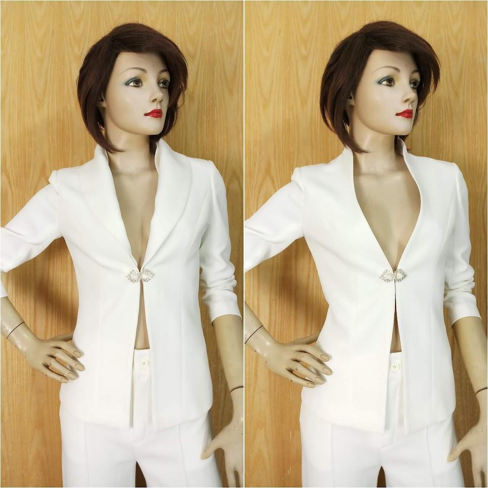 Áo vest nữ hai cổ mặc hai kiểu khác nhau V646 Hải Phòng