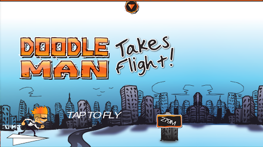 Doodle Man - Takes Flight