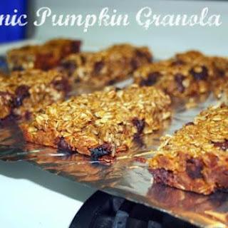Organic Pumpkin Granola Bars