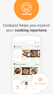 Cookpad – Create your own Recipes 1