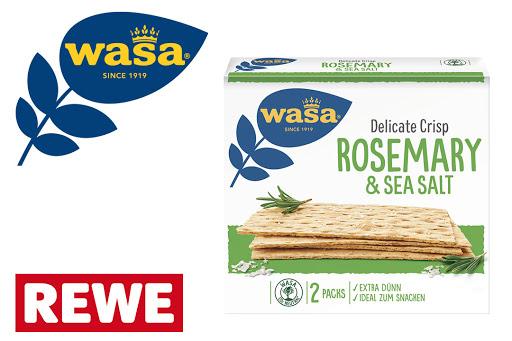 Bild für Cashback-Angebot: Wasa Delicate Crisp Rosmary & Sea Salt - Wasa