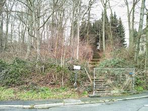 Photo: Der ,stairway to heaven' ist leider gesperrt