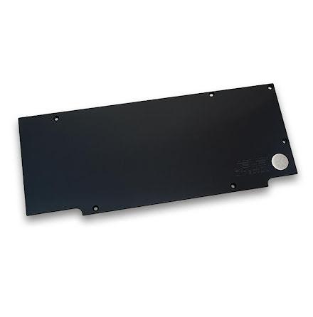 EK bakplate for EK-FC R9-280X DCII, sort