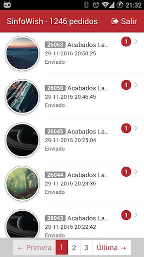 SinfoWish · PedidosGO! screenshot 1