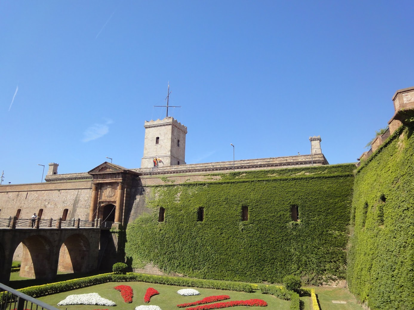 Château de Montjuic à Barcelone