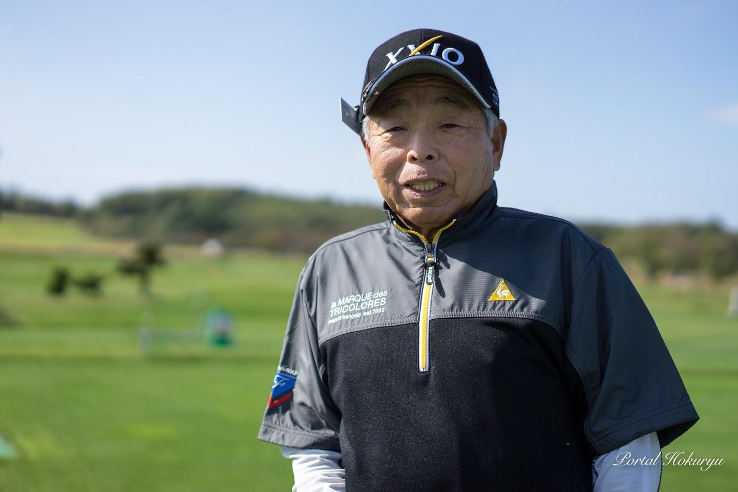 田中盛亮さん(80歳)