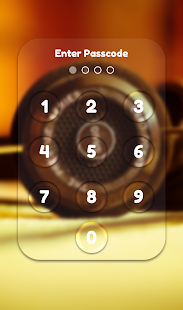 App Lock Theme - Music - náhled