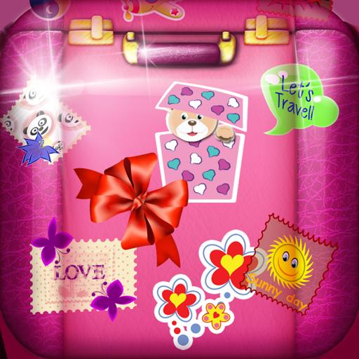 可爱的貼紙 生活 App LOGO-APP試玩