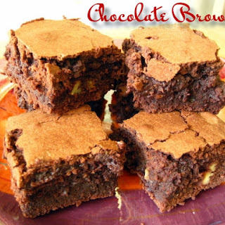 Chocolate Brownies.