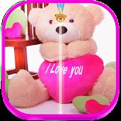 Baby Teddy Bear Zipper Lock