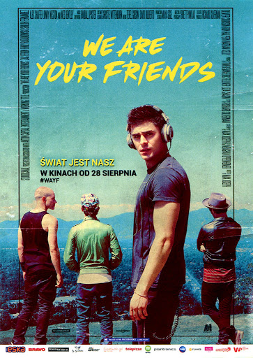 Przód ulotki filmu 'We Are Your Friends'