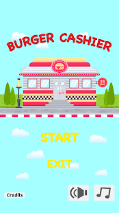 Burger Cashier - Fast food game Screenshot