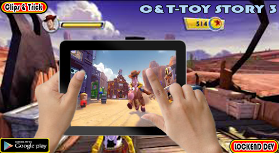 Clips&Trick Toy Story 3 - náhled