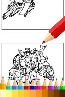 Coloring Book for Hero Rangers - Apps on Google Play