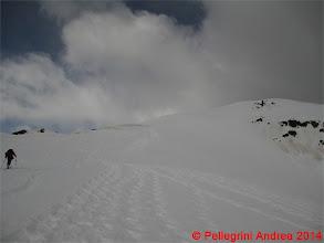 Photo: IMG_6992 Riccardo verso il tratto finale di cresta di Cima Forzellina