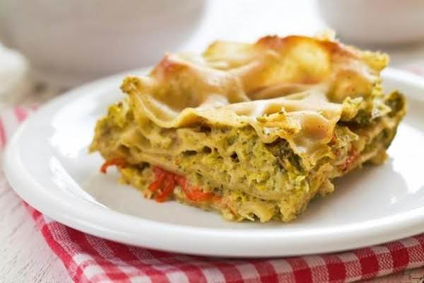 Lasagna With Veggies And Tofu