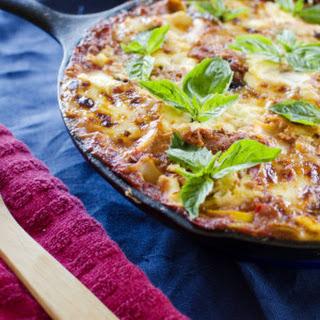 Skillet Vegetarian Lasagna