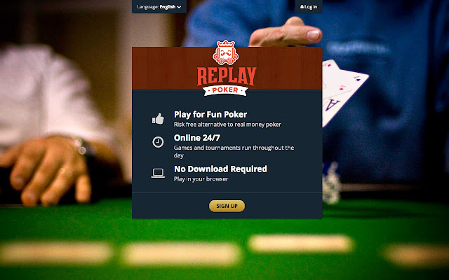 Texas holdem replay poker