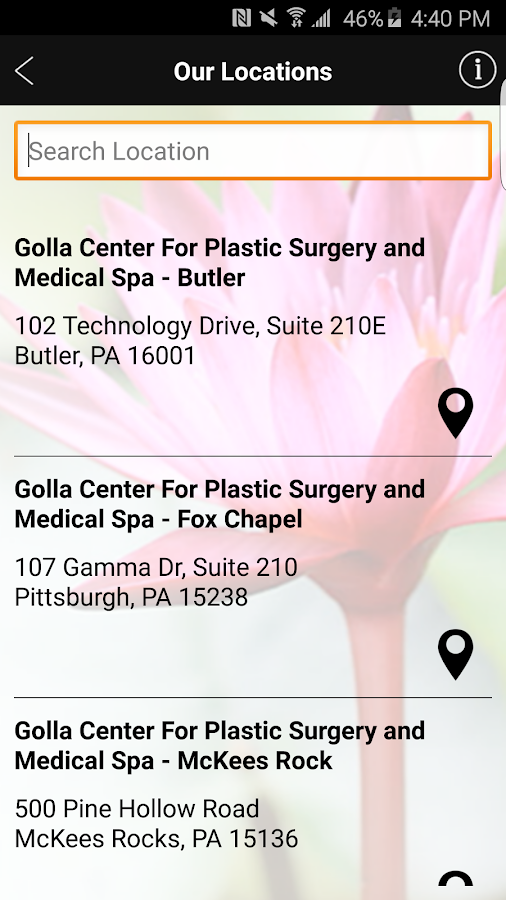 The Medispa at Golla Center- screenshot
