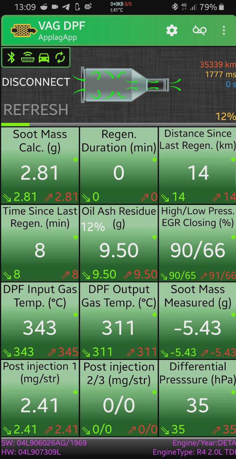 VAG DPF Screenshot 4