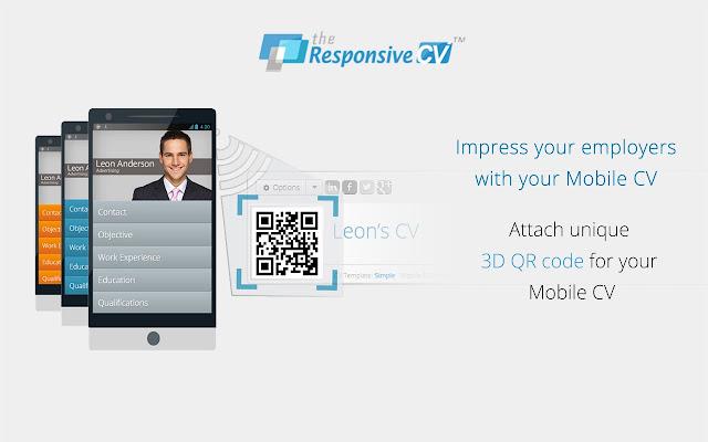 Responsive CV: Resume Maker from LinkedIn - Chrome Web Store