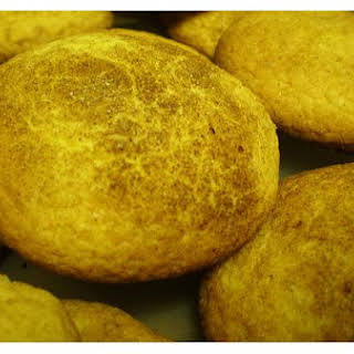 Yellow Cake Cinnamon Rolls.