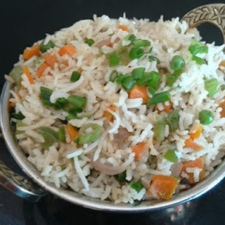 Indian Fried Rice (Restaurant Style) Recipe