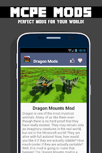 Dragon MOD For MCPE` screenshot 1