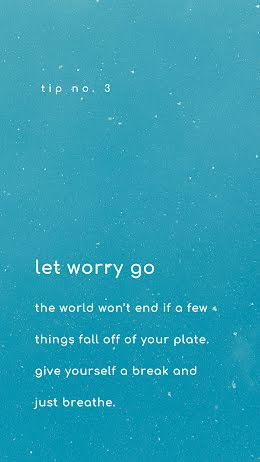 Let Worry Go - Facebook Story item