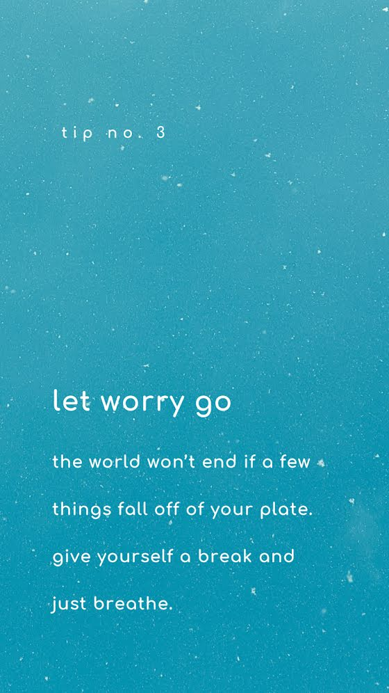 Let Worry Go - Facebook Story Template