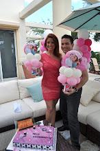 Photo: Mariana y Abel Acceso Total Telemundo 51 Balloon Decorations by  http://www.BestPartyPlanner.net