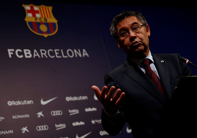 """Le FC Barcelone garde son président : """"Le pire moment pour abandonner le club"""""""