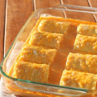Buffalo Chicken Lasagna Roll-Ups.